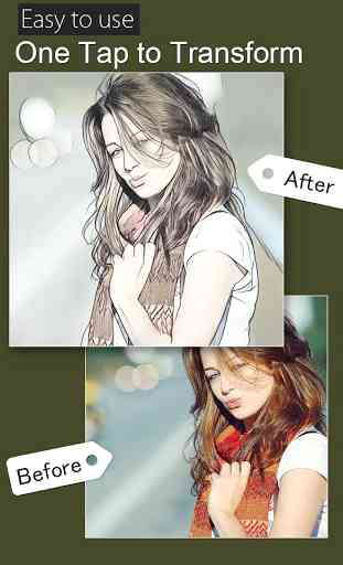 Cartoon photo  filter effect 3
