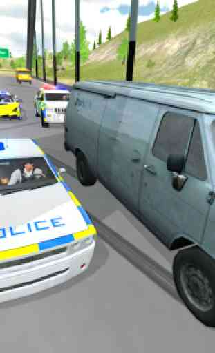 Police Car Driving - Police Chase 3