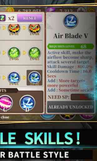 Endless Quest: Hades Blade - Free idle RPG Games 3