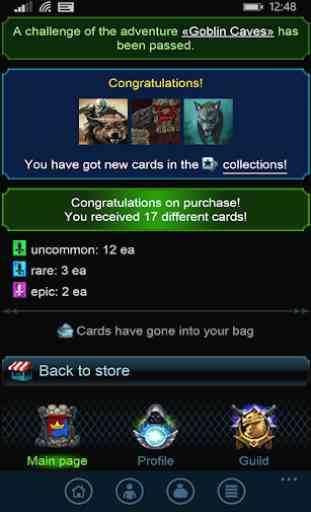 Masters of Elements-CCG game + online arena & RPG 2